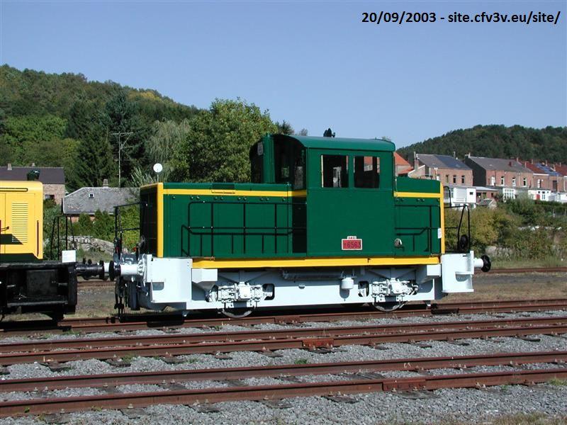 SNCF locotracteur Y-6563 - CFV3V