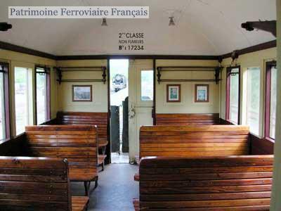 SNCF boîte à tonnerre B7t 17234 intérieur