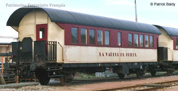 SNCF boite tonnerre B7 ??? - Vapeur du Trieux