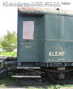 Allemagne fourgon boîte à tonnerre D 20 761 - ALEMF